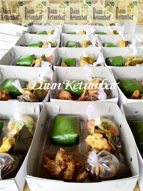 Menu nasi kotak di Jakarta Pusat