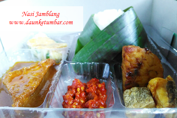 Nikmatnya Sega Jamblang khas Daun Ketumbar catering Jakarta Pusat