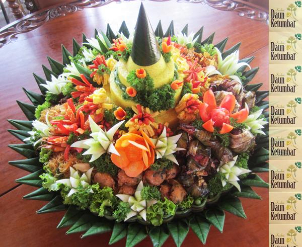 Nasi kuning tumpeng Jakarta Utara