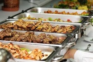 Meja Prasmanan atau buffet Jakarta Pusat