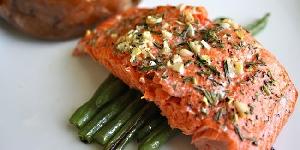 Resep Salmon Panggang Bumbu Daun Ketumbar