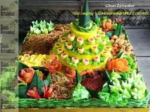 Nasi kuning Jakarta Pusat