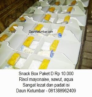 Snack Box Untuk Buka Puasa