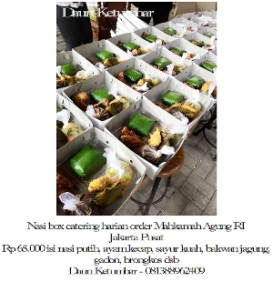 Nasi box Jakarta