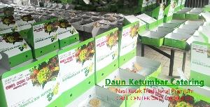 Nasi kotak di Bandung