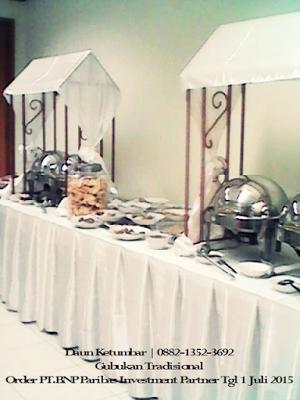 Menu buffet Jakarta Pusat