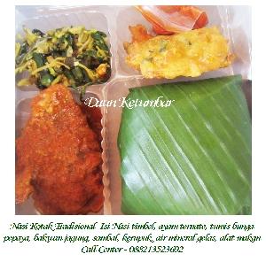 Menu nasi kotak untuk syukuran Jakarta