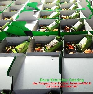 Order nasi bakar enak Jakarta Pusat