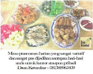 Prasmanan murah di Jakarta
