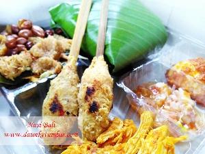 Nasi Bali Khas Daun Ketumbar Catering Jakarta