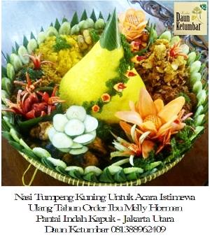 Nasi kuning murah di Jakarta