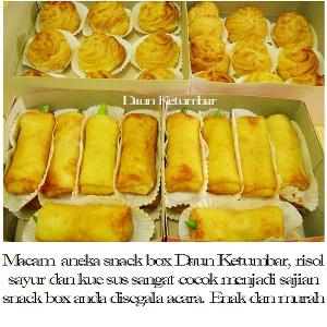 Snack box arisan Jakarta