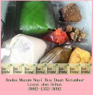 Nasi kotak untuk syukuran di Jakarta Selatan