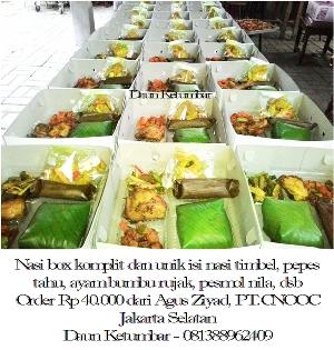 Paket nasi box di Jakarta