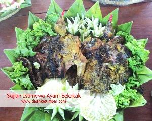 Resep ayam bekakak Jakarta Pusat