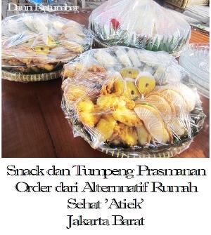 Snack dan nasi tumpeng prasmanan terpercaya di Jakarta