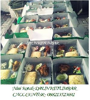 Contoh nasi kotak Jakarta Selatan