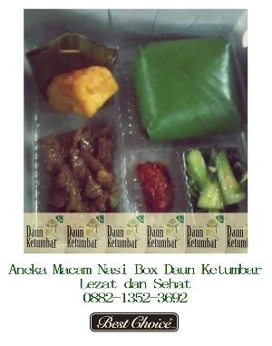Catering nasi kotak untuk ulang tahun di Jakarta Selatan