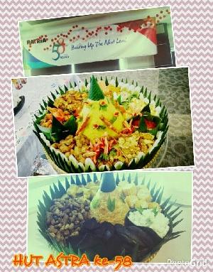 Tumpeng ulang tahun Jakarta