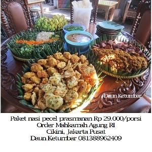 Paket prasmanan untuk kantor di Jakarta