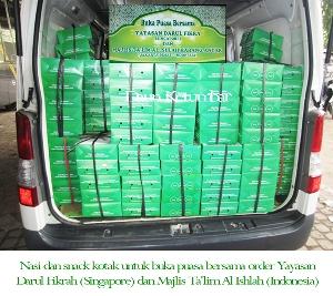 Menu nasi kotak enak dan murah Jakarta Utara