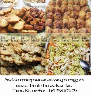 Harga dan menu prasmanan di Jakarta