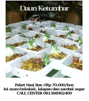 Catering nasi box untuk Ramadhan