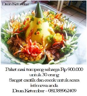 Nasi kuning di Jakarta Pusat