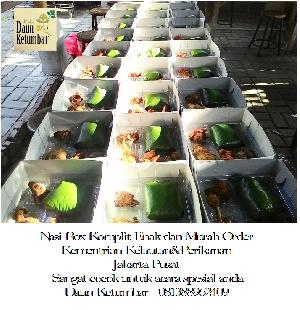 Nasi kotak syukuran Jakarta
