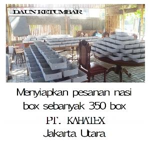 Order nasi kotak di Jakarta