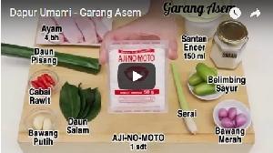 Resep Garang Asem Lezat