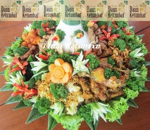 Nasi tumpeng akad nikah Jakarta Barat