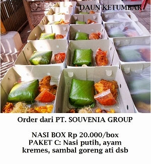 Nasi box terpercaya di Jakarta