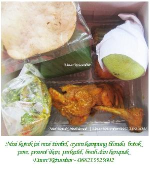 Menu nasi kotak Jakarta Pusat