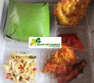 Menu nasi kotak Ramadan Jakarta Pusat