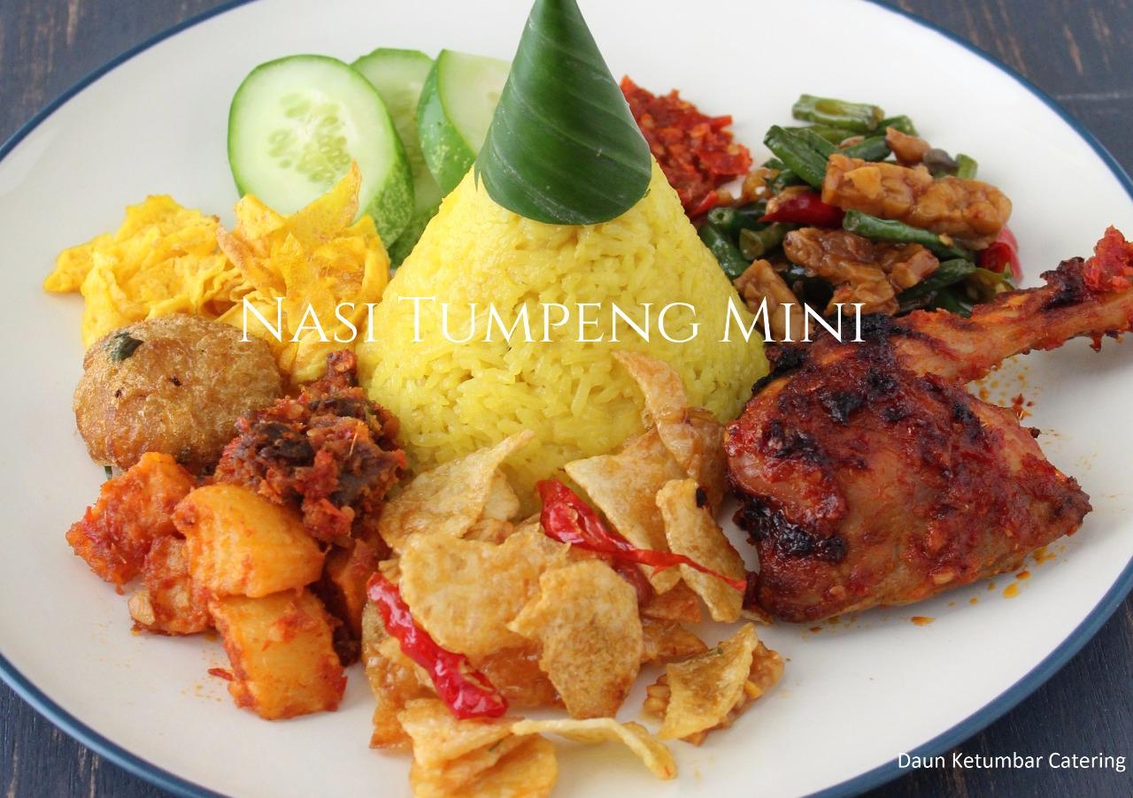 Nasi Tumpeng Mini Kuning Dus