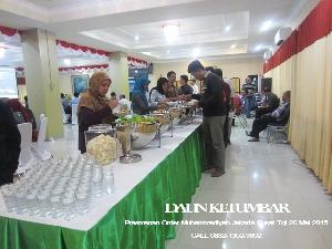 Prasmanan Order Muhammadiyah Jakarta Pusat
